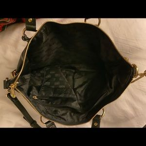 Michael Kors black leather purse!